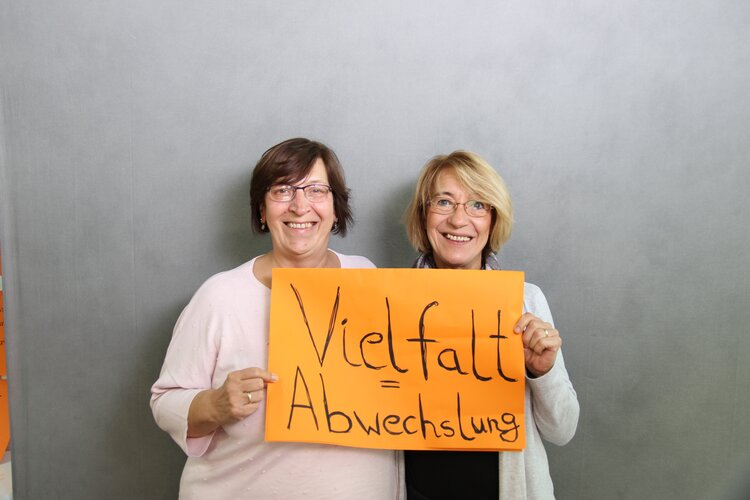 Claudia Pagel und Renate Lohse