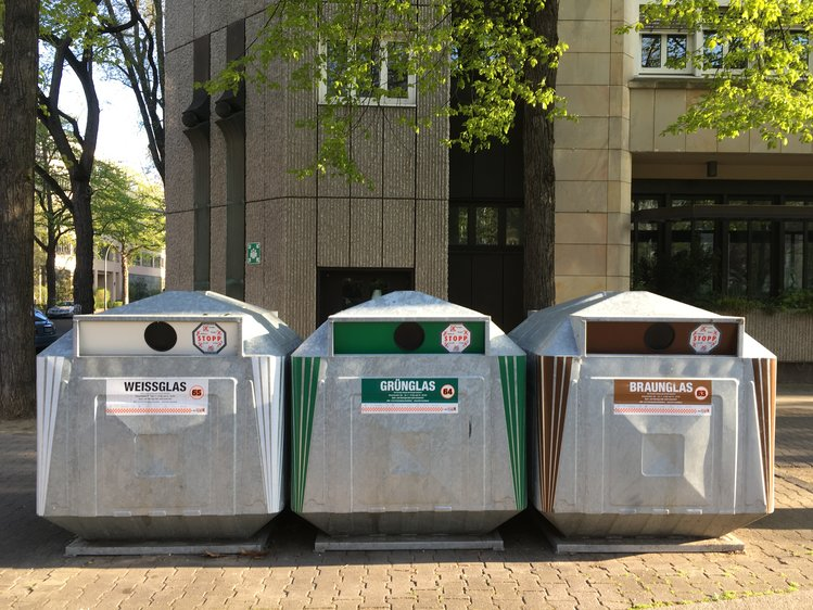 Altglasiglus der Berlin Recycling